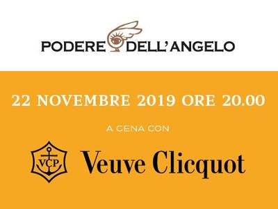 A Cena con Veuve Clicquot - Podere dell'Angelo