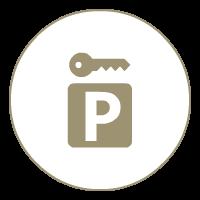 Parcheggio interno custodito